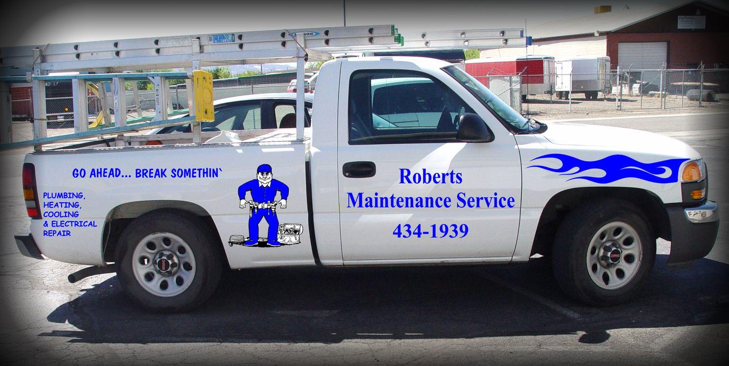 Roberts Maintenance Service Truck