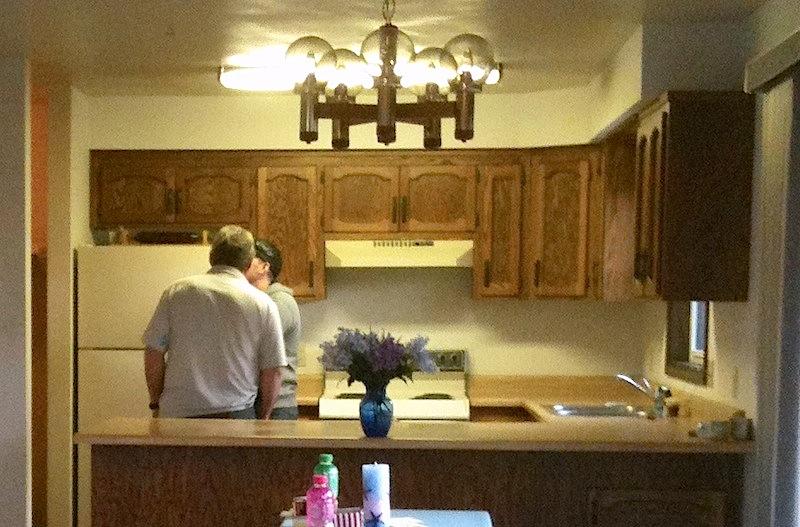 Kitchen After Kitchen Before